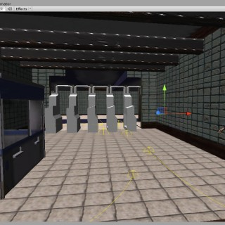 screenshot of my VR project